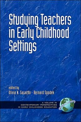 Studying Teachers In Early Childhood Settings (Pb)