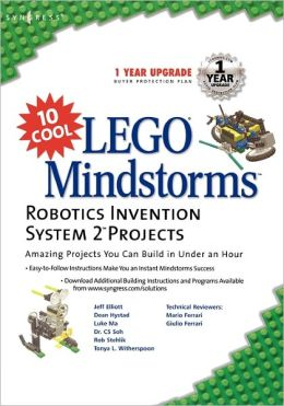 10 Cool Lego Mindstorm Robotics Invention System 2 Projects: Amazing Projects You Can Build in Under an Hour