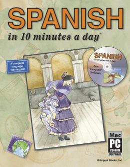 SPANISH in 10 minutes a day with CD-ROM