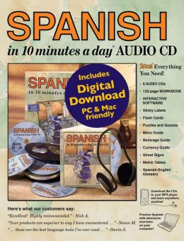 SPANISH in 10 minutes a day with Audio CD