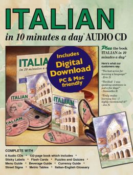 ITALIAN in 10 minutes a day with Audio CD
