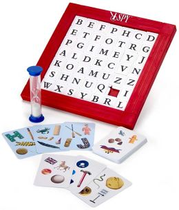 I Spy Word Scramble Game
