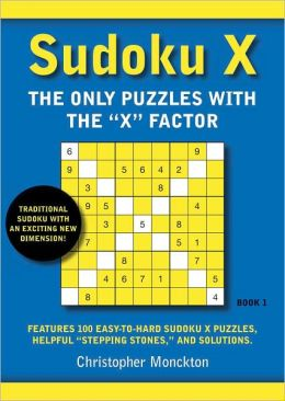 Sudoku X: The Only Puzzles with the