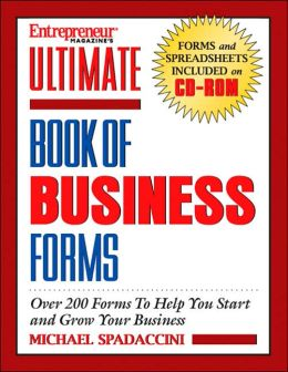Entrepreneur Magazine's Ultimate Book of Business Forms