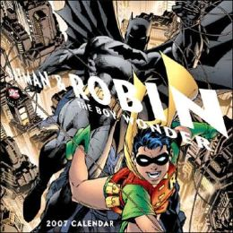 Batman and Robin the Boy Wonder 2007 Calendar