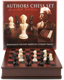 American Authors Chess Set (B&N Exclusive)