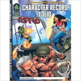 Mutants & Masterminds: Character Record Folio