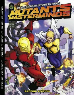 Mutants and Masterminds: RPG: 2nd Edition