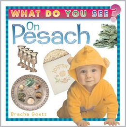 What Do You See on Pesach?: A fun way for toddlers to learn Passover-related Vocabulary!