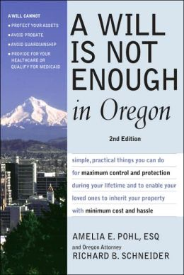 Will is not Enough in Oregon