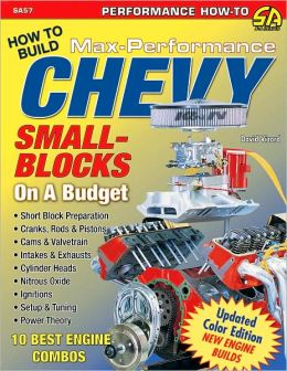 How to Build Max Performance Chevy Small Blocks on a Budget: Updated Color Edition