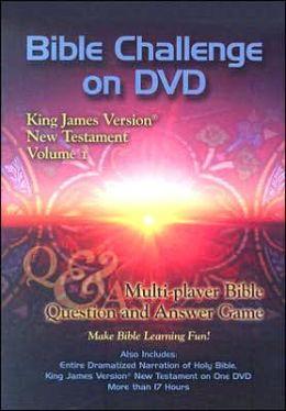 Bible Challenge on DVD KJV New Testament, Volume 1