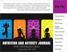 Nutrition and Activity Journal for Teenaged Girls