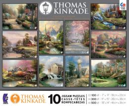 10 in 1 Kinkade Collectors Edition Puzzle