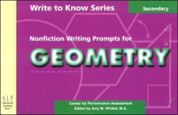 Nonfiction Writing Prompts for Geometry