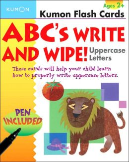 ABC's Write and Wipe!: Uppercase Letters