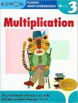 Book Cover Image. Title: Grade 3 Multiplication:  Kumon Math Workbooks, Author: Michiko Tachimoto