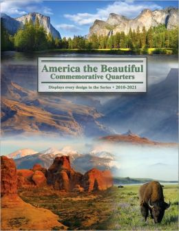 America the Beautiful Comemorative Quarter Color Folder