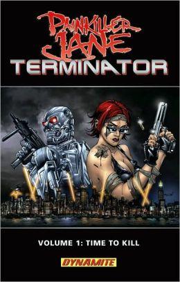 Painkiller Jane Vs. Terminator: Time to Kill