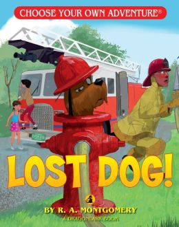 Lost Dog! (Choose Your Own Adventure Dragonlarks Series)