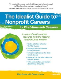 The Idealist Guide to Nonprofit Careers for First-time Job Seekers