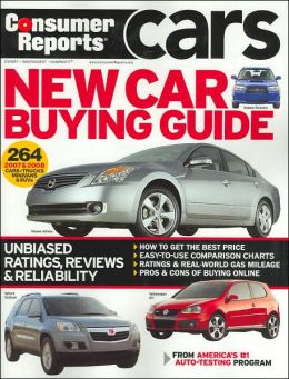 consumer reports new car buying guide 2007 by consumer reports 9781933524092 paperback. Black Bedroom Furniture Sets. Home Design Ideas