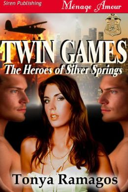 Twin Games [The Heroes of Silver Springs 2] (Siren Publishing Menage Amour)