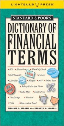 Standard and Poor's Dictionary of Financial Terms