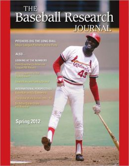 Baseball Research Journal (BRJ), Volume 41 #1