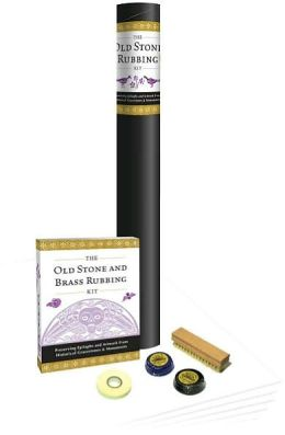 The Old Stone & Brass Rubbing Kit