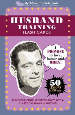 Husband Training Flash Cards