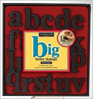 Big Letter Stamp Kit - Lower Case