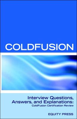 Macromedia Coldfusion MX 7 Interview Que