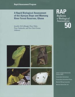 Rapid Biological Assessment of the Konashen Community Owned Conservation Area, Southern Guyana: RAP Bulletin of Biological Assessment #51