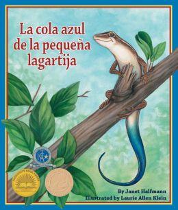 La cola azul de la pequeña lagartija (NOOK Comic with Zoom View)