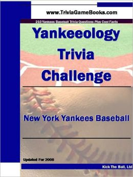 Yankeeology Trivia Challenge: New York Yankees Baseball