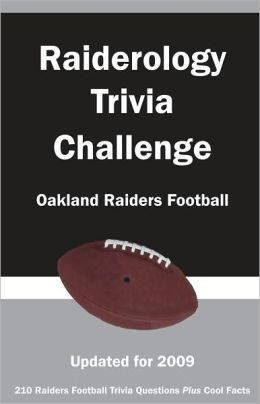 Raiderology Trivia Challenge: Oakland Raiders Football
