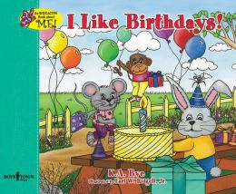 I Like Birthdays!: Interactive Book about Me