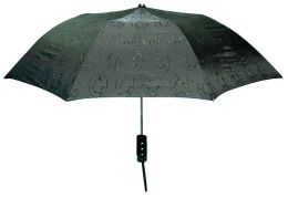 Penguin Black Wink Ink Umbrella