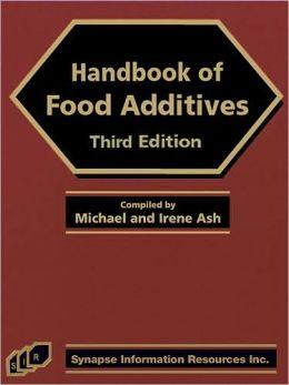 Handbook of Food Additives