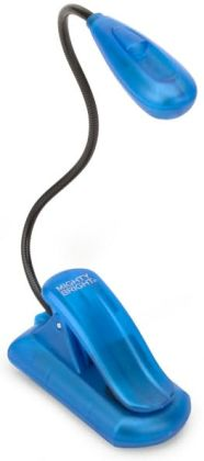 Mighty Bright Blue Xtraflex 2 LED Deluxe Booklight Kit