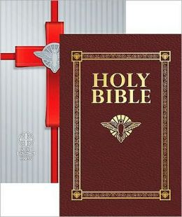 Confirmation Bible (NAB) Burgundy