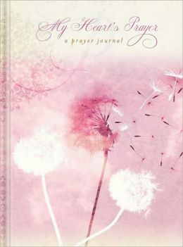 Pink My Heart's Prayer Bound Lined Journal(6