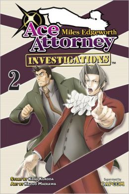 Miles Edgeworth: Ace Attorney Investigations, Volume 2