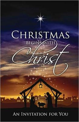 Christmas Begins with Christ