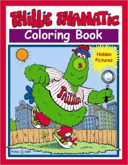 Phillie Phanatic Hidden Pictures Coloring Book