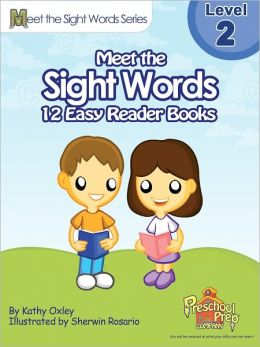 Meet the Sight Words Easy Reader Books - Level 2 (set of 12 books)