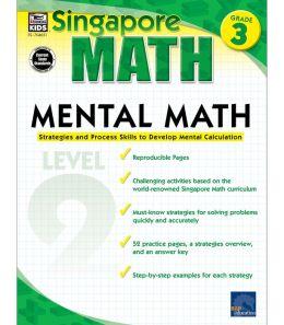 Singapore Math Mental Math Level 2: Grade 3