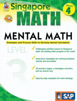 Singapore Math Mental Math Level 3: Grade 4