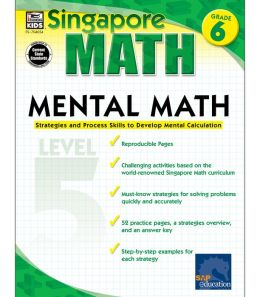 Singapore Math Mental Math Level 5: Grade 6